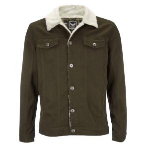 Brave Soul Men's Myles Western Jacket - Khaki