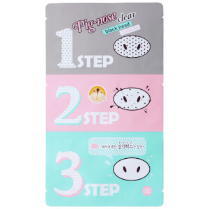 Kit 3 Passos (5 conjuntos) Clear Blackhead Pig Nose da Holika Holika