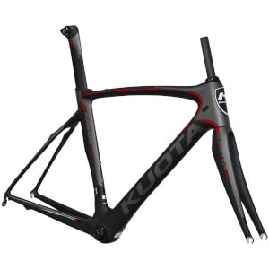 Kuota Kryon Frameset - Matt Grey/Red