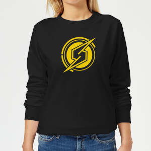 Nintendo Metroid Samus Coin Women's Sweatshirt - Black