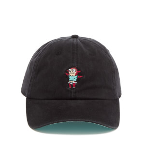 Rick and Morty Men's Junior Embroidery Cap - Black