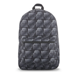 Marvel Black Panther Icon Quickturn Backpack - Black