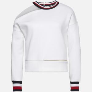 Tommy Hilfiger X GIGI Women's Open Shoulder Sweatshirt - Classic White