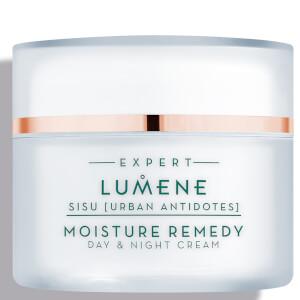 Crema de día y de noche Moisture Remedy Nordic Detox [Sisu] de Lumene 50 ml