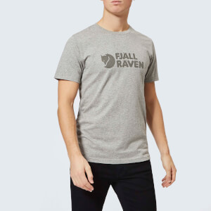 Fjallraven Men's Logo Short Sleeve T-Shirt - Grey