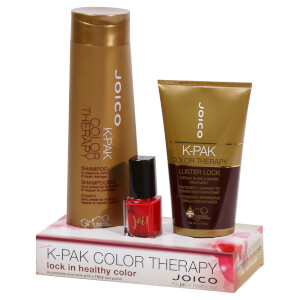 Joico K-Pak Color Therapy and Nail Varnish Bundle (Worth 32.55)
