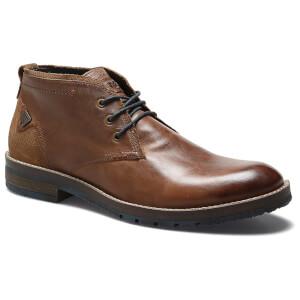 Wrangler Men's Boogie Leather Desert Boots - Rust