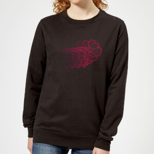 Nintendo Super Metroid Retro Samus Women's Sweatshirt - Black