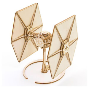 Incredibuilds Star Wars TIE Fighter 3D Wooden Model Kit