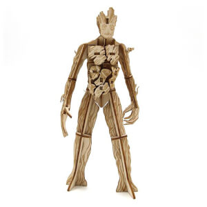 Incredibuilds Marvel Guardians of the Galaxy Groot 3D Wooden Model Kit