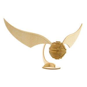 Incredibuilds Harry Potter The Golden Snitch 3D Wooden Model Kit