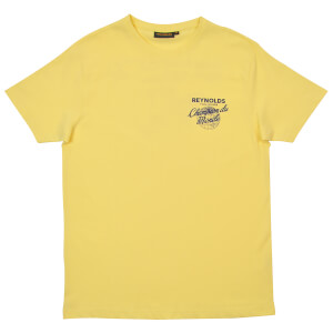 Reynolds Champion Du Monde T-Shirt - Yellow