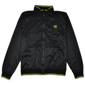 Reynolds 531 Tipped Full Zip Track Top - Black