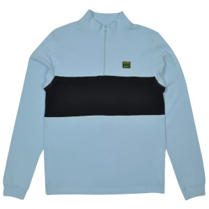 Reynolds 753 Quarter Zip Jumper - Sky Blue
