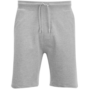 D-Struct Men's Basen Sweat Shorts - Grey Marl