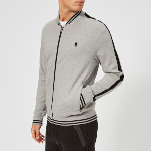 Polo Ralph Lauren Men's Bomber Collar Track Top - Andover Heather
