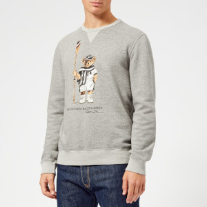 Polo Ralph Lauren Men's Vintage Fleece Bear Sweatshirt - Bronx Heather: Image 1