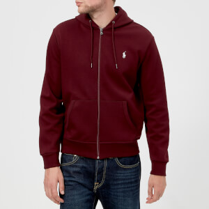 Polo Ralph Lauren Men's Double Knit Tech Hoody - Classic Wine