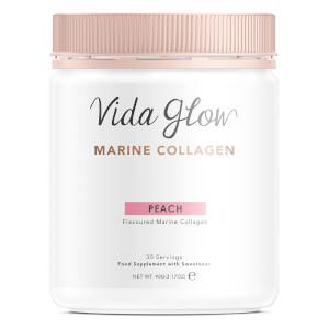 Vida Glow Marine Collagen Powder 90g - Peach