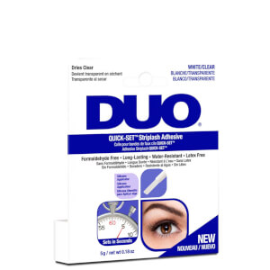 Colle pour bandes de faux cils Quick-Set DUO 5 g - Transparente
