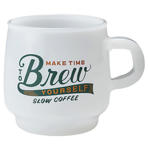Kinto SCS Sign Paint Mug - Brew