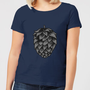 Beershield Hop Women's T-Shirt - Navy