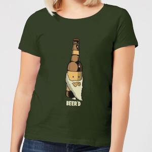 Beershield Beerd Women's T-Shirt - Forest Green