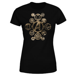 Marvel Avengers Infinity War Icon Women's T-Shirt - Black