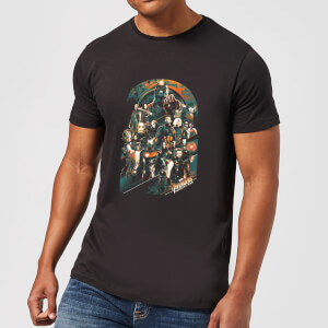 Marvel Avengers Infinity War Team T-shirt - Zwart