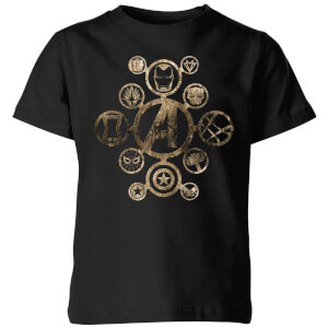 T-Shirt Enfant Avengers Infinity War ( Marvel) Icon - Noir