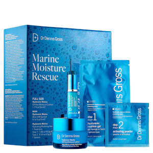 Dr Dennis Gross Hyaluronic Marine Moisture Rescue Kit (Worth $85)
