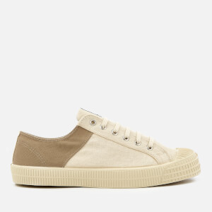 Novesta X Universal Works Men's Star Master Two-Tone Trainers - Beige/Ecru