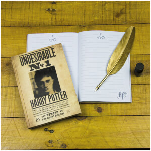 Harry Potter 3D Lenticular Notebook from I Want One Of Those