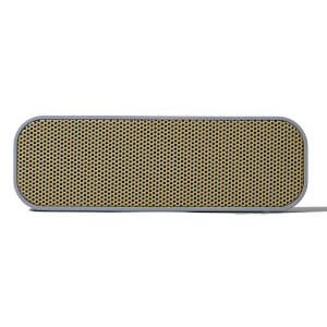 Kreafunk aGROOVE Bluetooth Speaker - Cool Grey/Gold