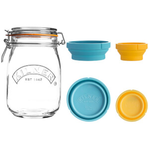 Kilner Measure And Store Jar Set 1 Litre
