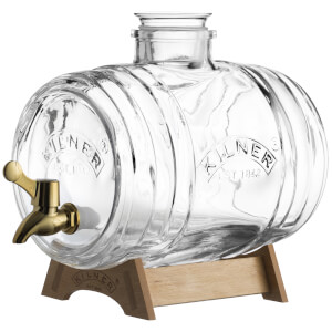 Kilner Barrel Drinks Dispenser 3.5 Litre