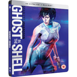 Ghost in the Shell - 4K Ultra HD - Steelbook Exclusif Limité pour Zavvi