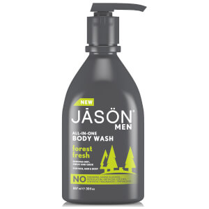 Gel de ba?o para hombre Forest Fresh Pump de JASON