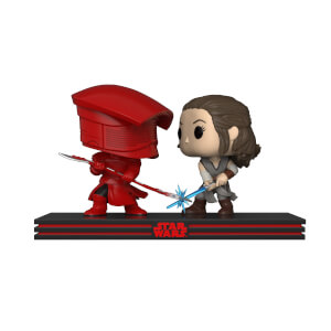 Star Wars The Last Jedi Rey & Praetorian Guard Funko Pop! Movie Moment