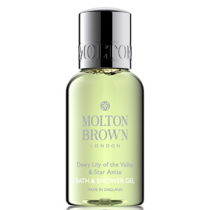 Molton Brown Dewy Lily of the Valley & Star Anise Bath & Shower Gel 30ml (Free Gift) (Worth £5.00)