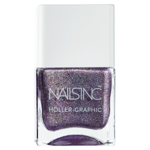 nails inc. Holler Graphic Nail Polish - Get Out of My Space 14ml