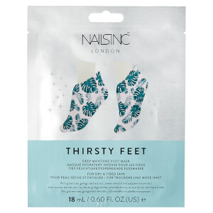 nails inc. Thirsty Hands Super Hydrating Foot Mask 14 ml
