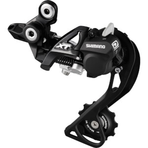 Shimano RD-M8000 XT 11-Speed Shadow+ Design Rear Derailleur - Black