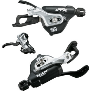 Shimano SL-M980-I XTR 10-Speed Rapidfire Pods - 2nd Generation I-Spec-B Mount - Pair