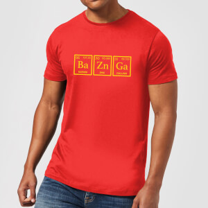 Ba Zn Ga T-Shirt - Red