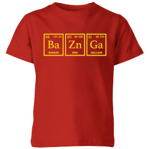 Ba Zn Ga Kids' T-Shirt - Red