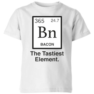Bacon Element Kids' T-Shirt - White