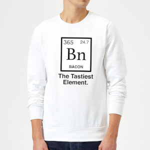 Bacon Element Sweatshirt - White