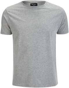 D-Struct Men's Premium Soft Touch Crew Neck T-Shirt - Grey Marl