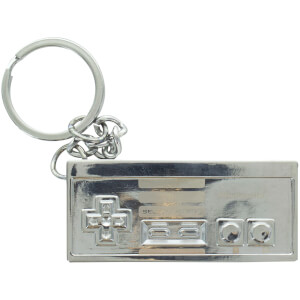 Nintendo NES 3D Metal Keyring from I Want One Of Those